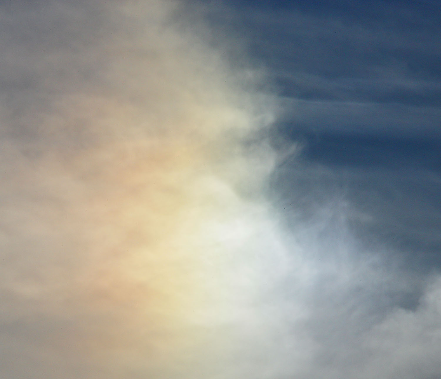 sun dog late afternoon from my front yard author kelly landrum