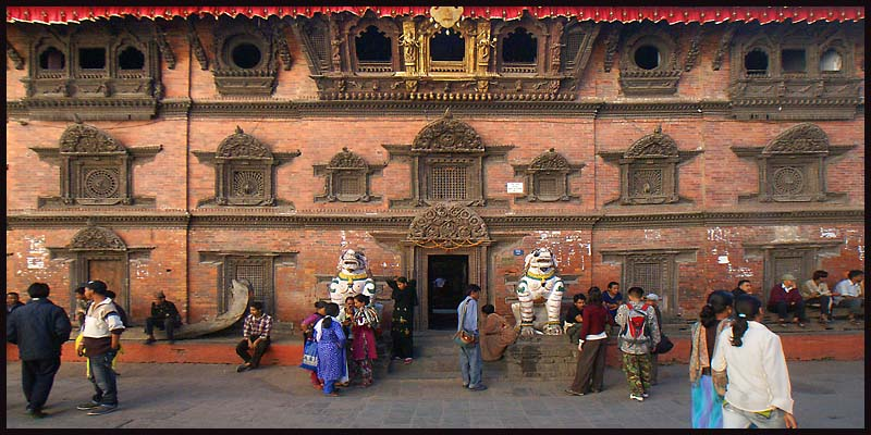 patan temple facade kathmandu author downs jim