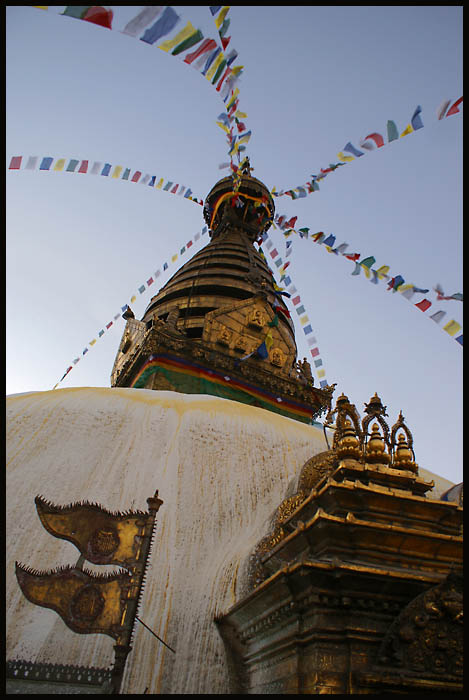 swayambhunath stupa author downs jim