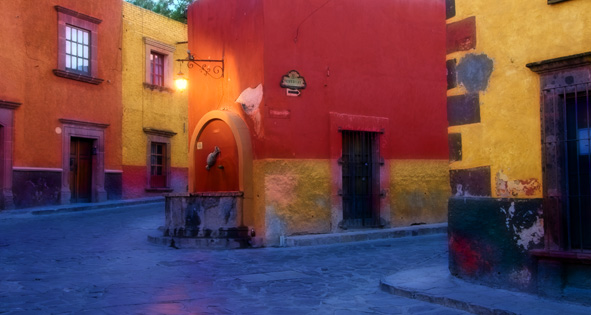 saturated morning in san miguel author vanourkova jana