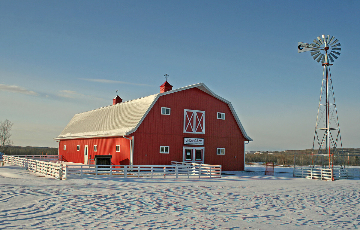 red barn in the winter author pluskwik paul