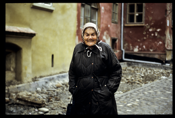 an old local of the medieval town sighisoara ro ursu mihail