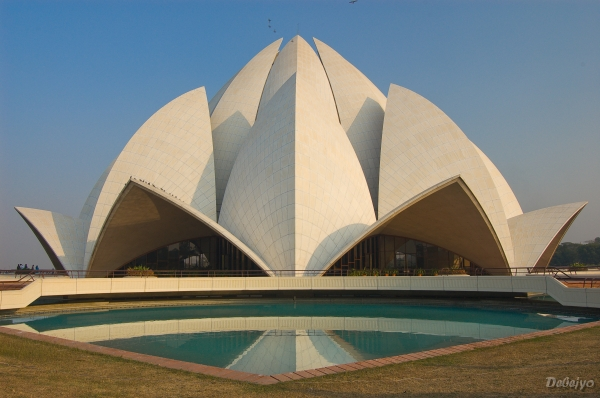 lotus temple author chakraborty debejyo