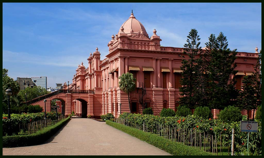 colonial jewel in dhaka manzil museum or pink pa downs jim
