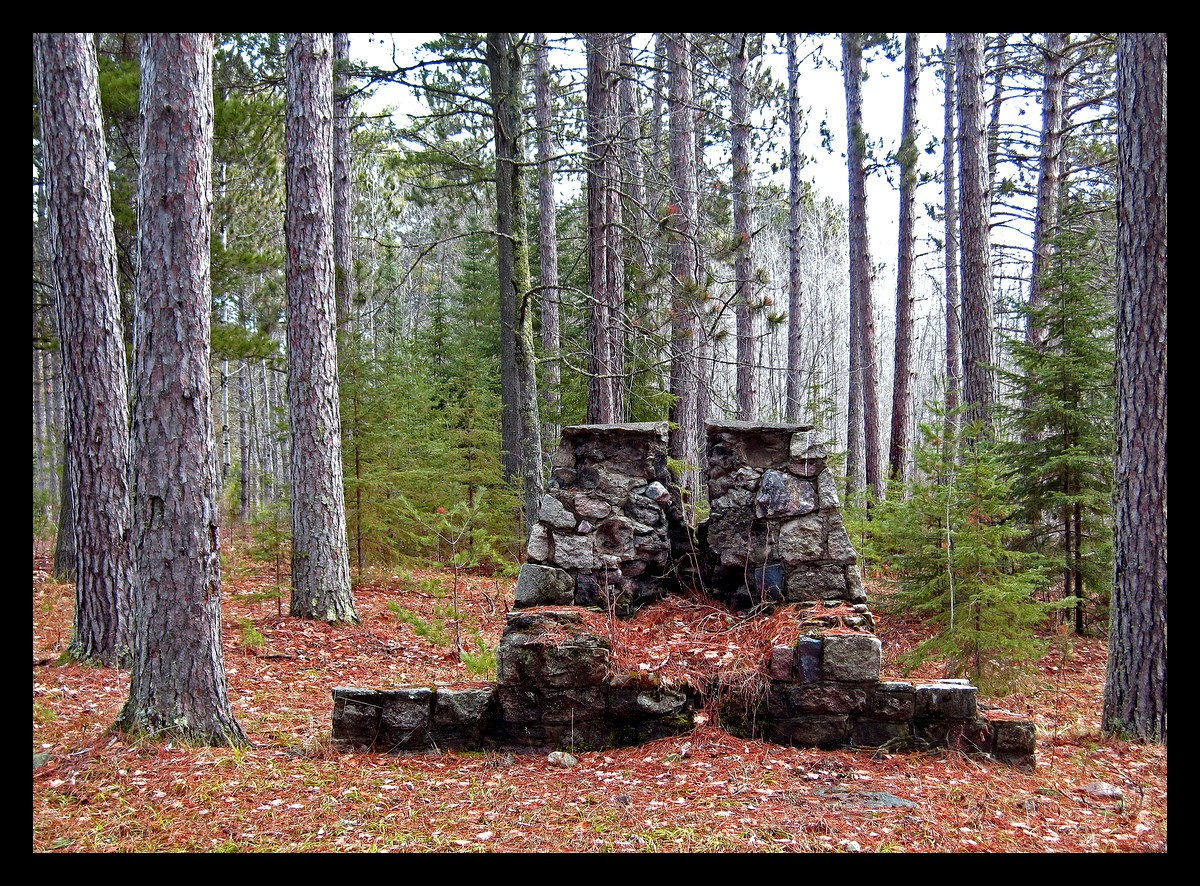 old stone fireplace in the pines author pluskwik paul