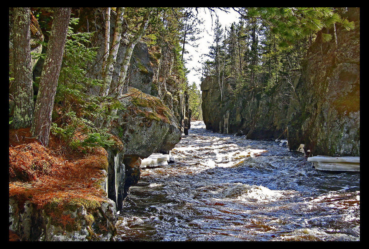 spring hike to the vermilion river gorge author p pluskwik paul
