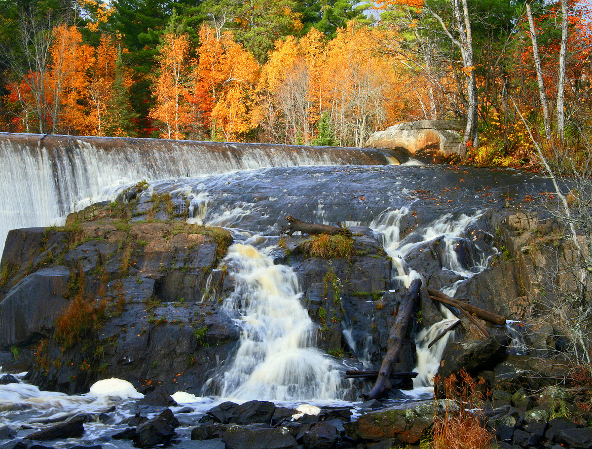 fall view of pike river dam author pluskwik paul