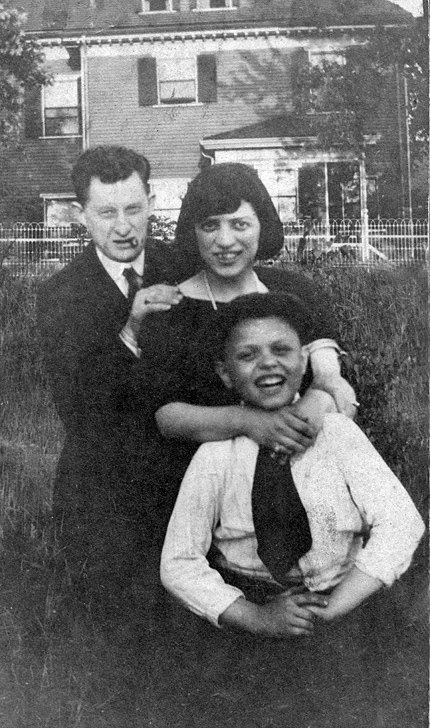 philip and rose siegel wiith her younger brother y honolulu gerry