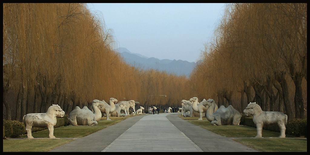 spirit way the approach to ming tombs autho downs jim
