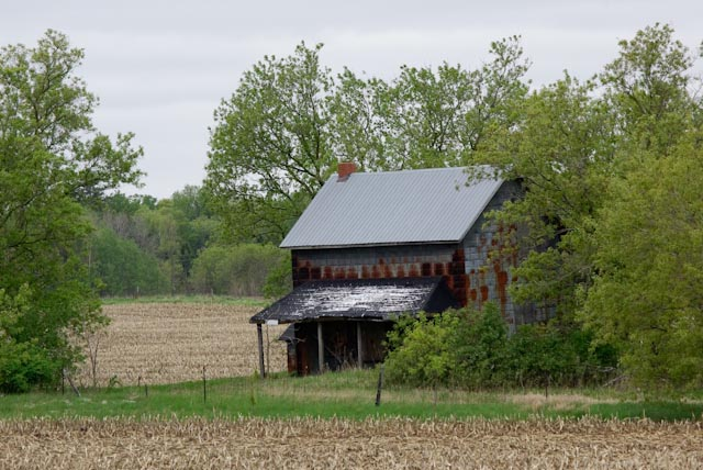 abandoned farm in ballantrae author brooks david