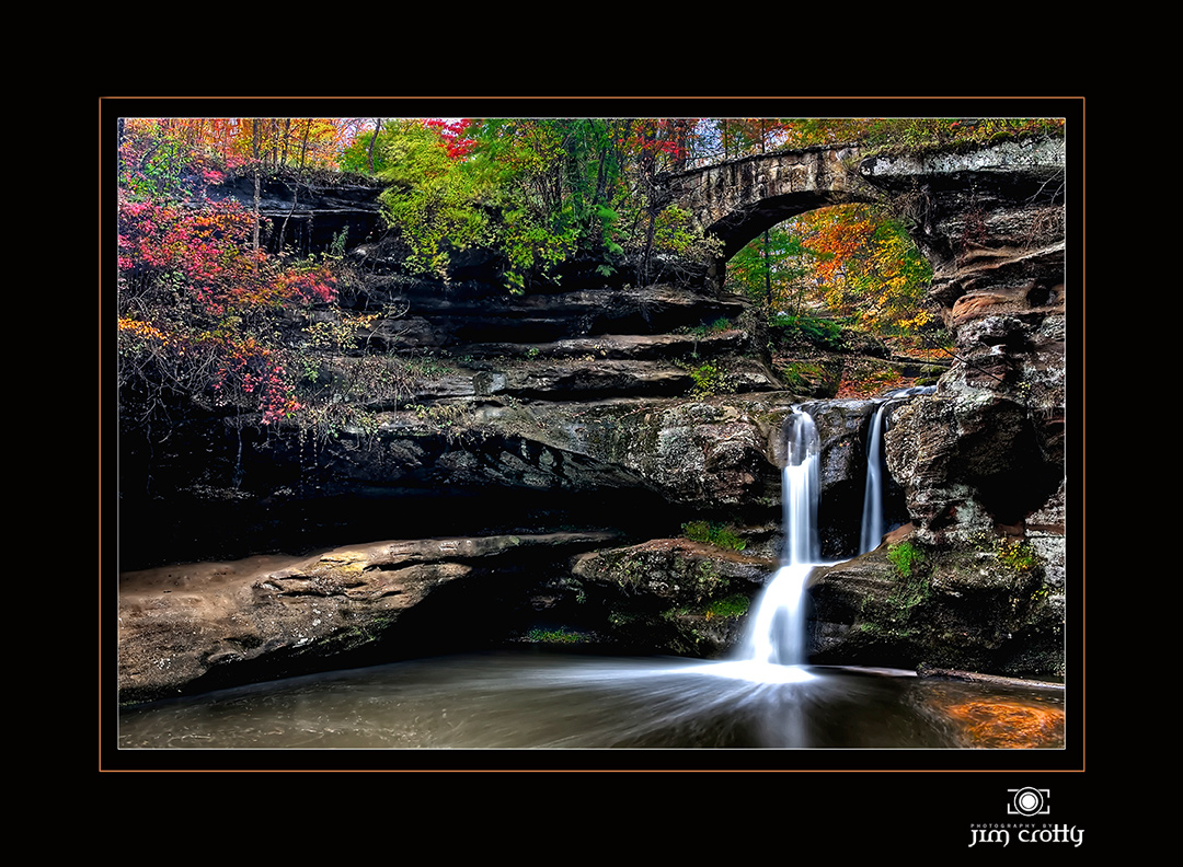 upper falls in october author crotty jim