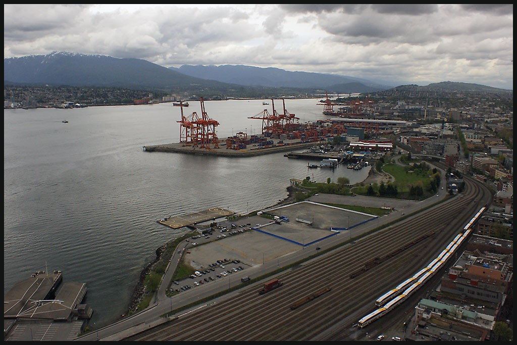 vancouver docks railyards author downs jim