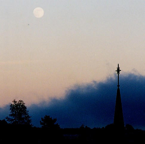 moon rise over mill valley fog author papai ken