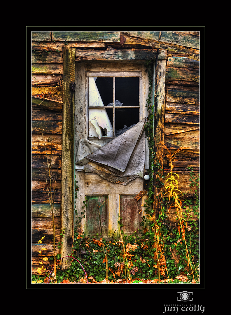 old cabin door author crotty jim