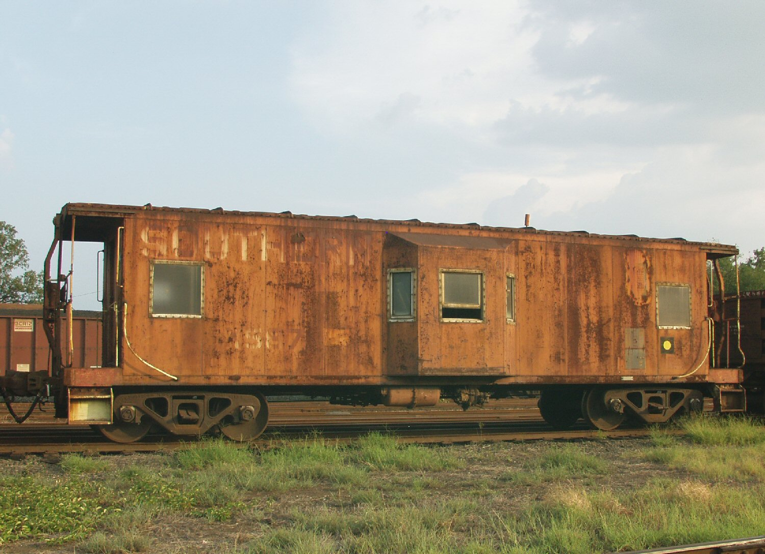 southern railway bay window caboose salisbury spen kelly landrum