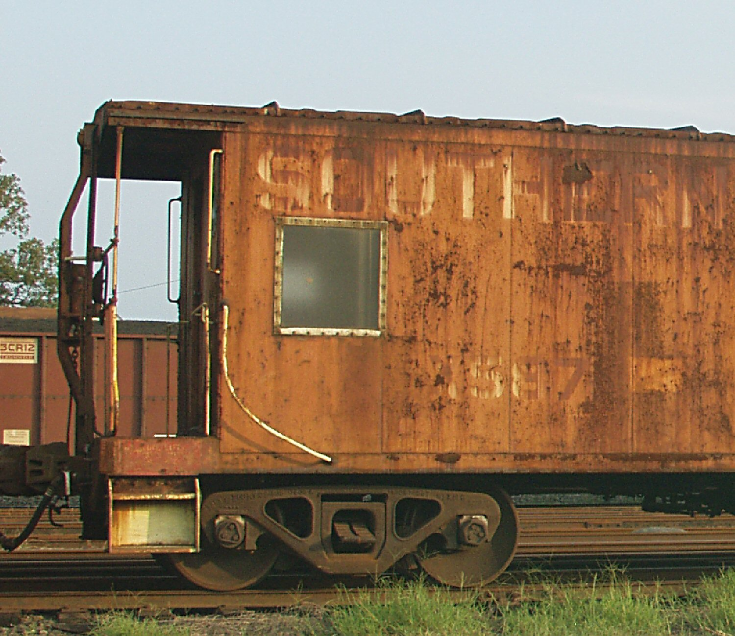 southern railway caboose with logo salisb kelly landrum