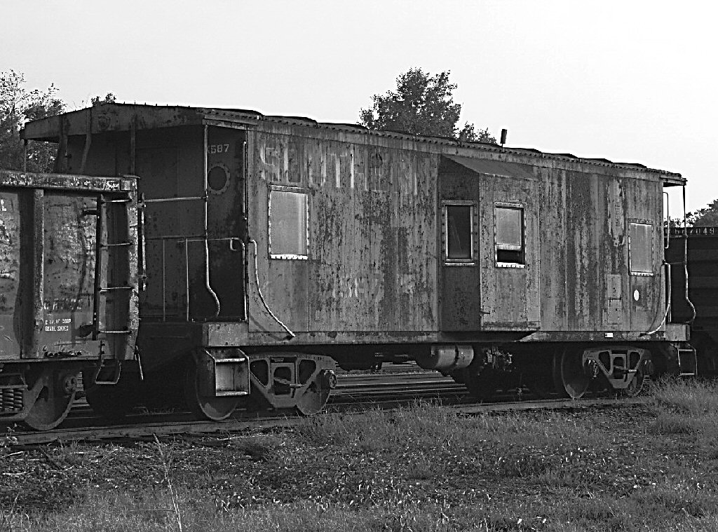 caboose southern railway b w author kelly landrum
