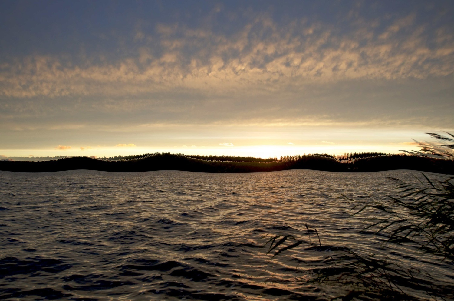 wind and waves at sunset author soini hannu