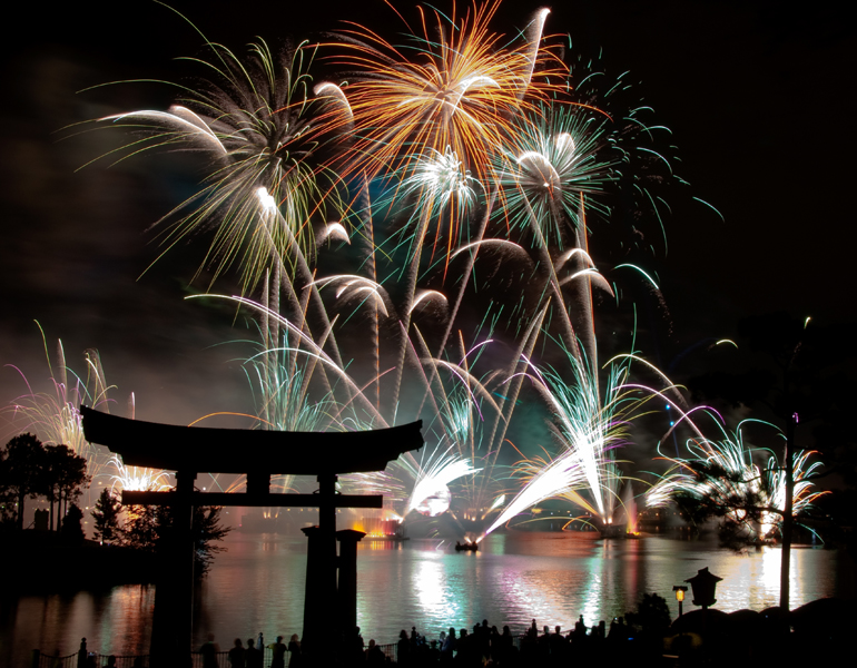 fireworks from japan disney style author watson richard