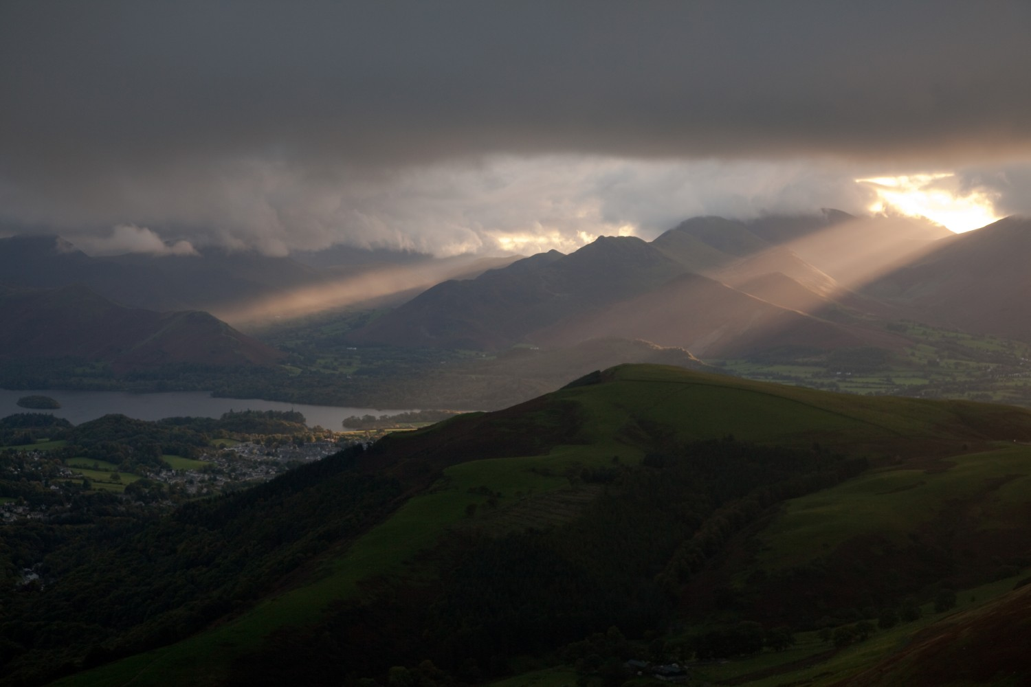 rays on keswick author gale richard