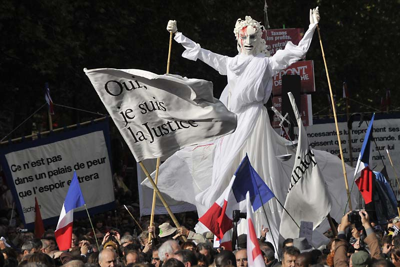 protest in paris author dupin eric