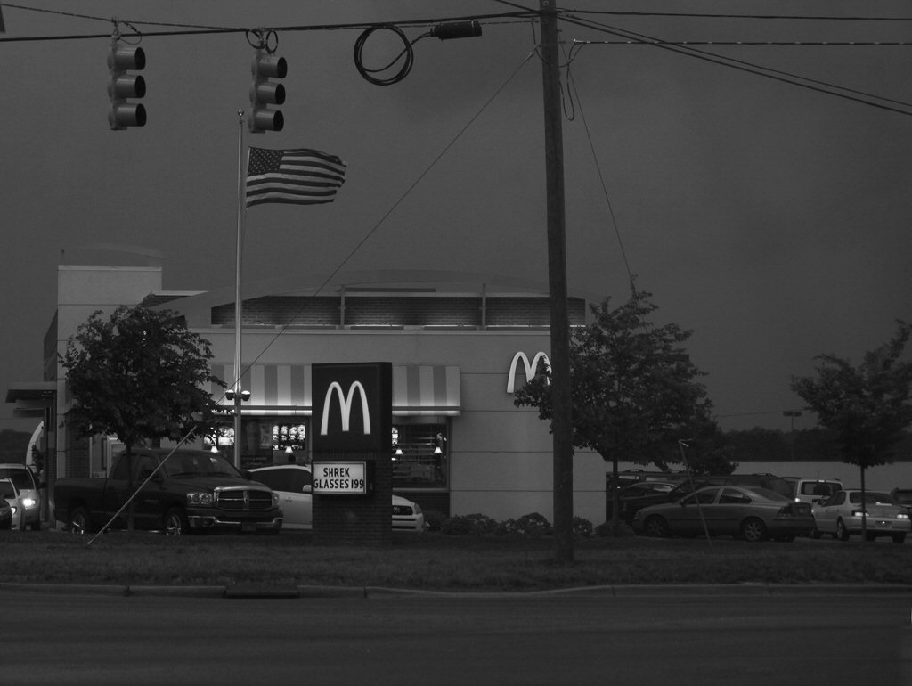worship service at the golden arches temple b w kelly landrum