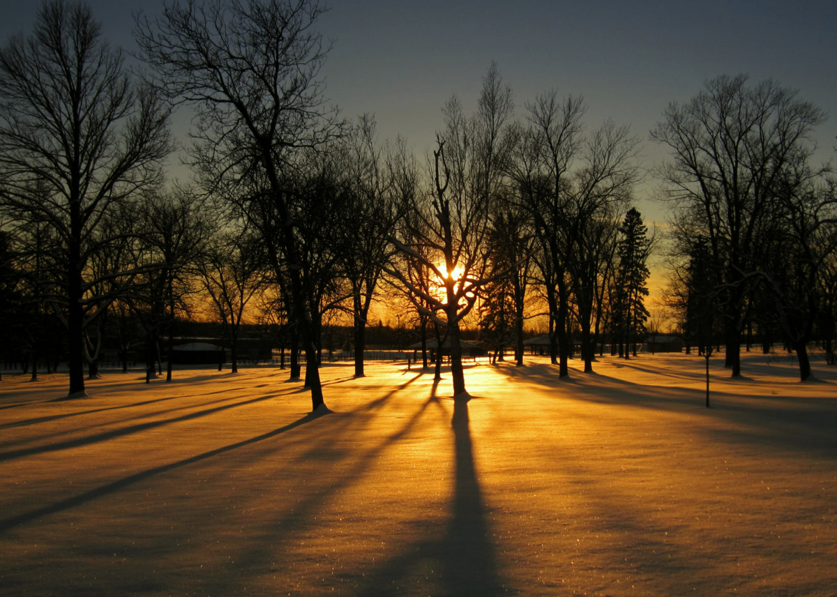 sunset fresh snow and long shadows author pluskwi pluskwik paul