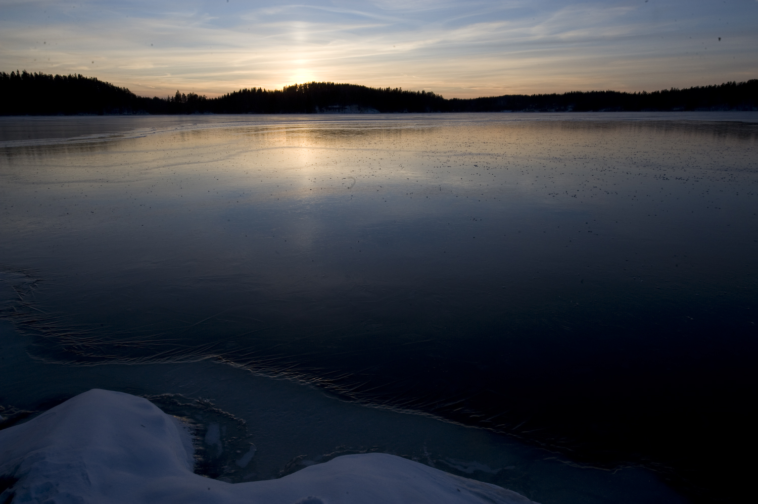 first sunset over fresh ice author soini hannu