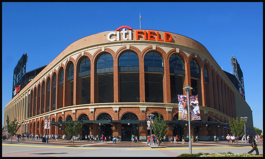 citifield facade new home of the mets author do downs jim