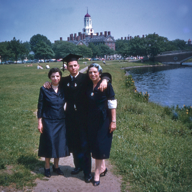 college commencement june w rose and aunt sonia a siegel honolulu gerry