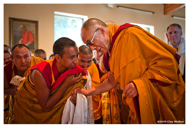 his holiness the dalai lama author walker clay