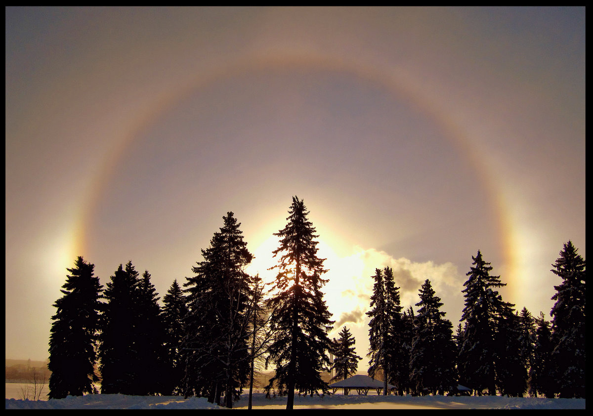 sun dog at sunrise author pluskwik paul