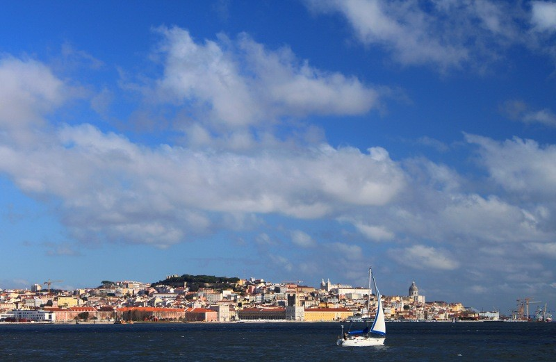 shot from the southern side of river tagus author barros joao