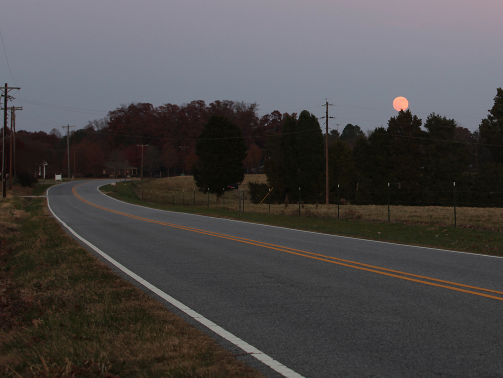 this road goes all the way to peach moon it re kelly landrum