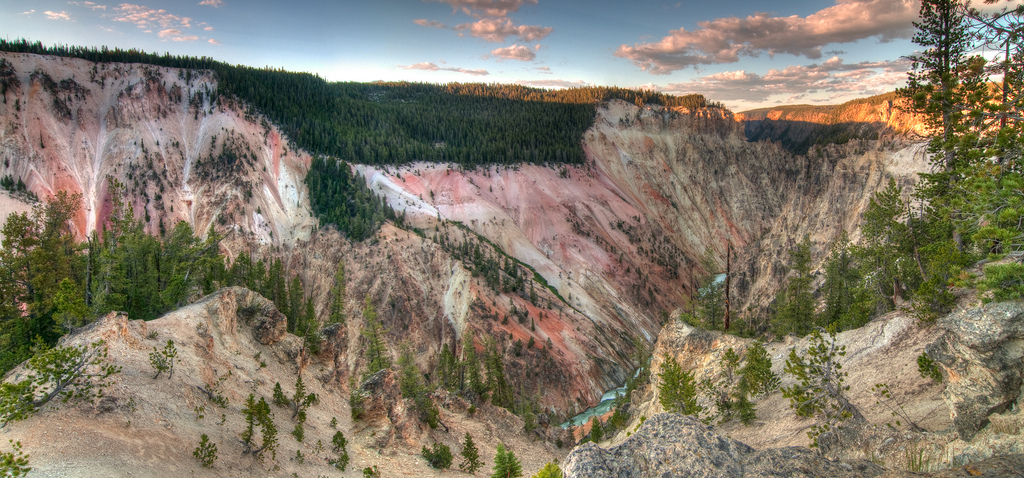 grand canyon of yellowstone panorama author scher scherer kevin