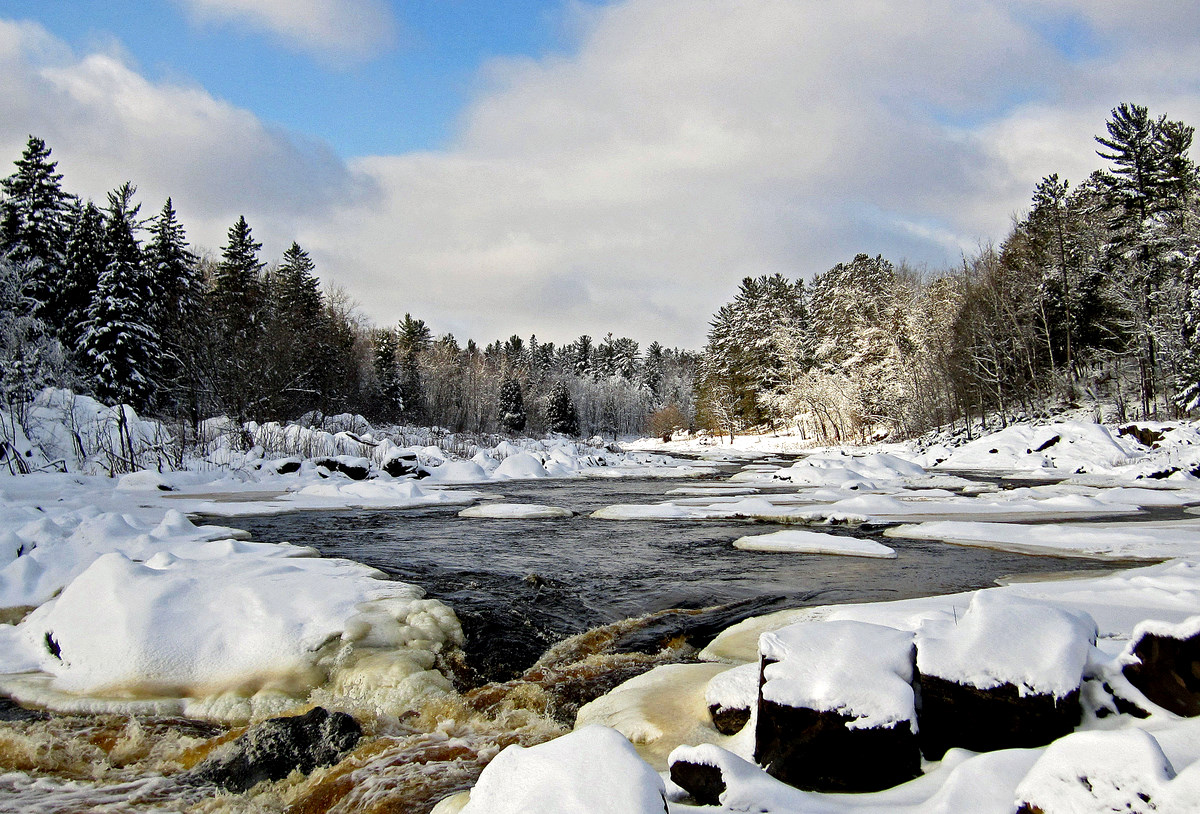 winter landscape at jay cooke state park author p pluskwik paul