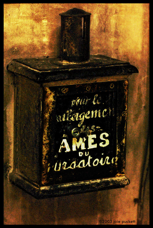 alms for purgatory author puckett joie