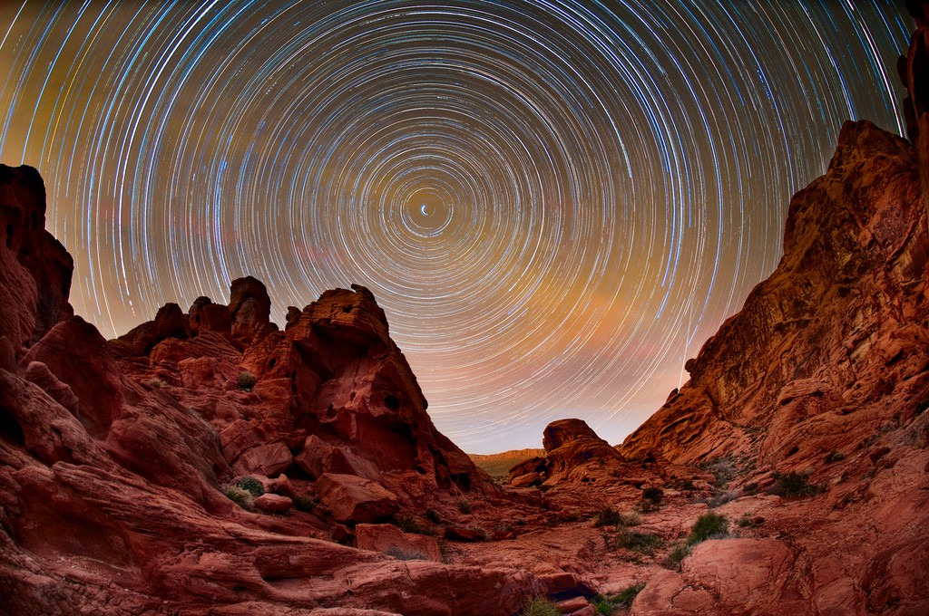valley of fire star trails author davis harold
