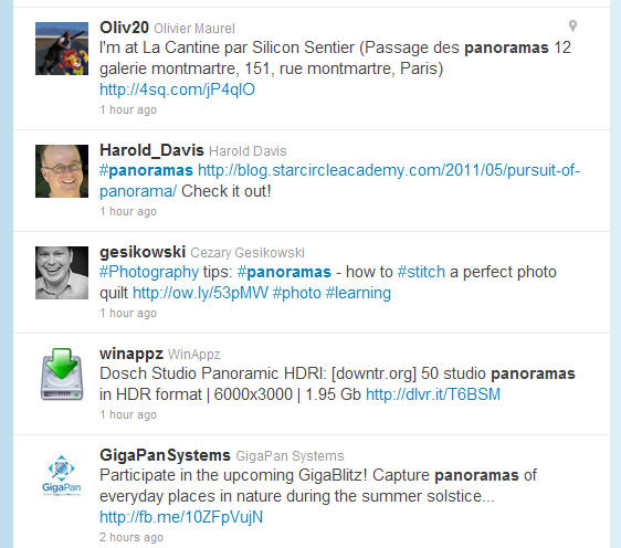 searching twitter author editorial photonet
