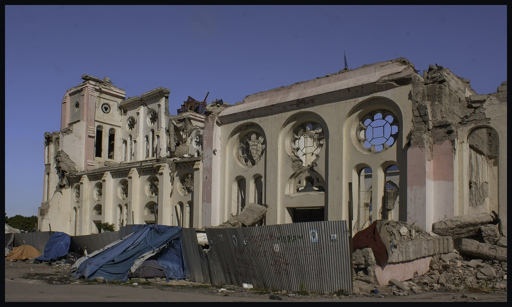 notre dame cathedral in port au prince author dow downs jim