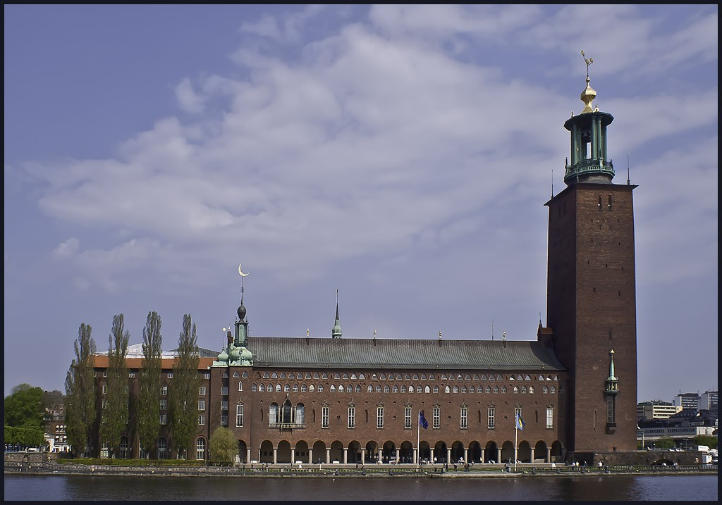 stockholm city hall nobel prize award site large downs jim