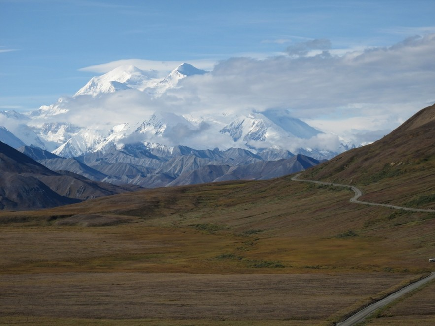 mount mckinley on clear day img author dreizler bob