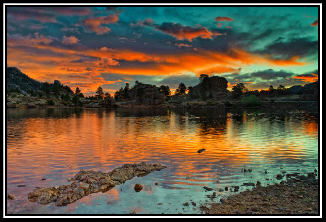mary s lake oct sunrise by tommy wilbert author g gricoskie jared