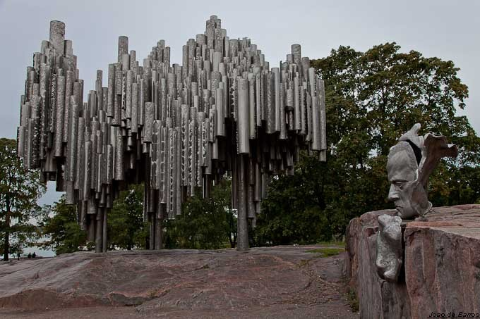 sibelius monument author barros joao