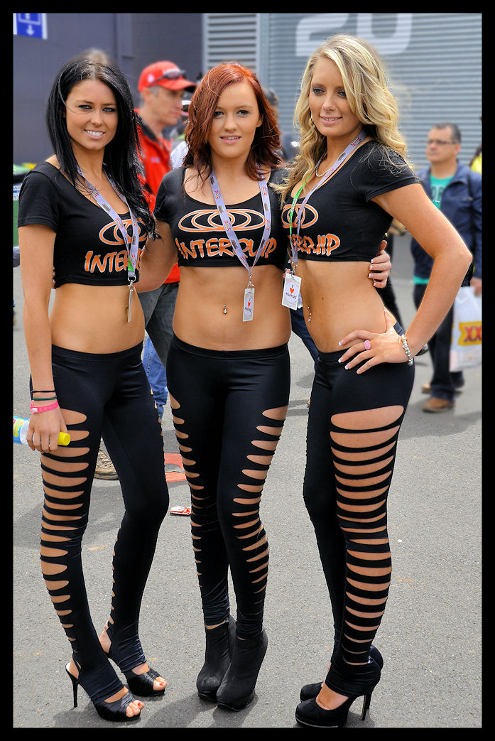 Grid Girl Outfit