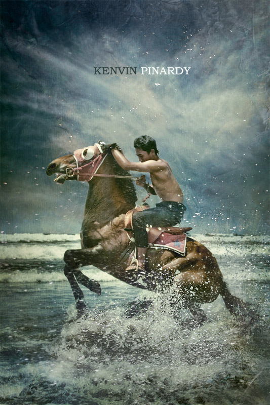 against the waves author pinardy kenvin