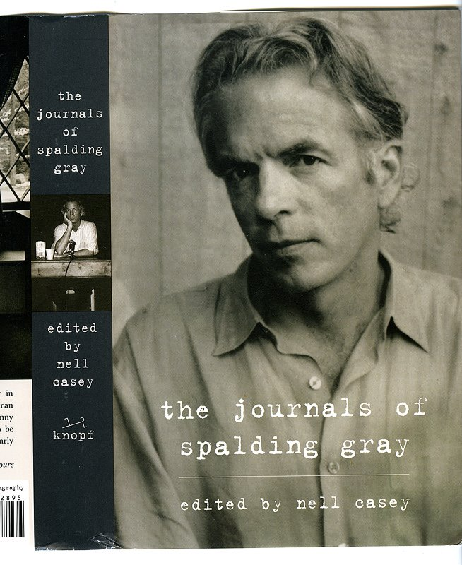 the journals of spalding gray spine photo by cl walker clay