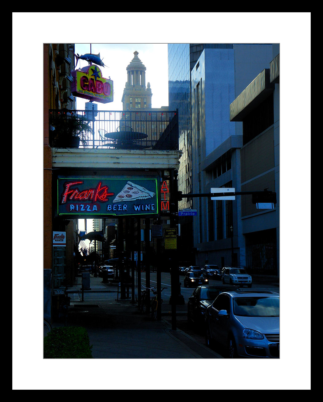 downtown with a point and shoot author woodard g gary