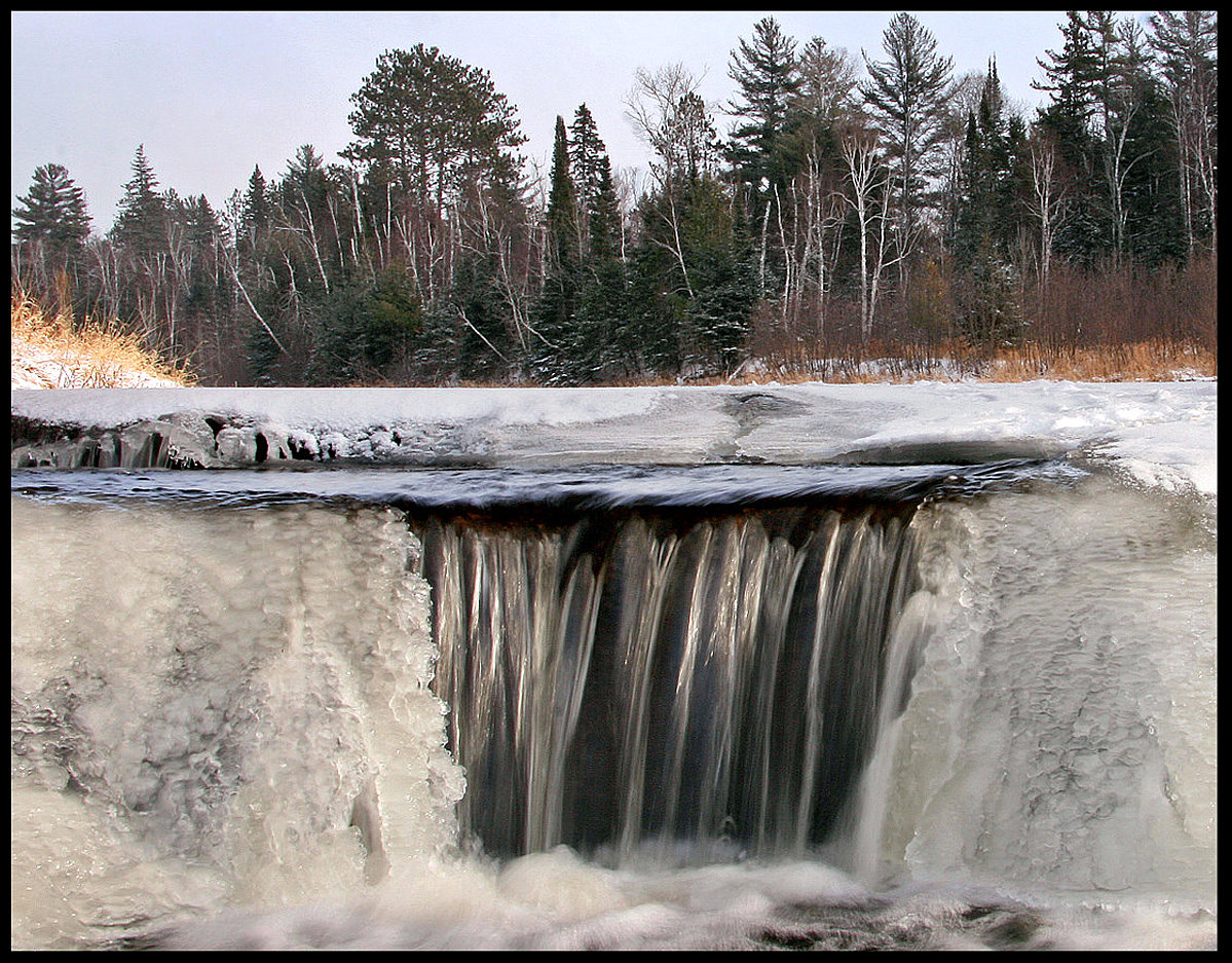 forbes dam in the winter author pluskwik paul