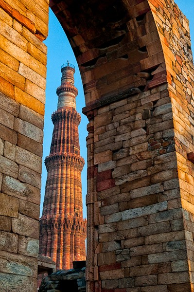 qutb minar peaking out author gricoskie jared